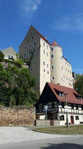 Vom Ort Gnandstein aus gesehen