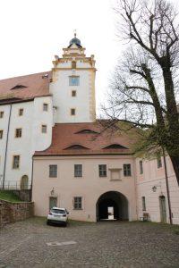 Erstes Torhaus von Innen
