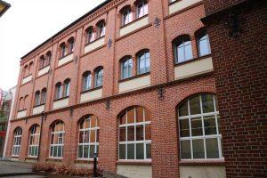 Backstein Fabrikgebäude