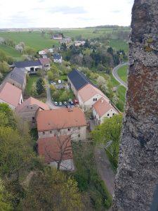 Blick nach Osten vom Turm gesehen