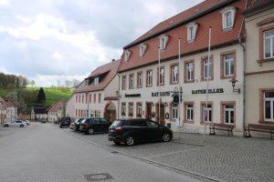 Rathaus und Ratskeller am Markt