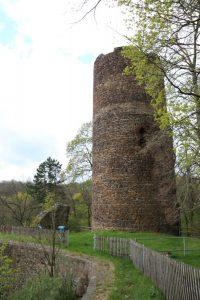 Westlicher Bergfried