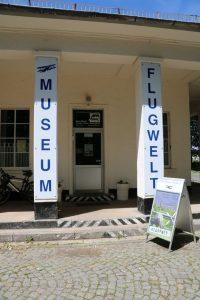 Eingang zum Flugwelt Museum