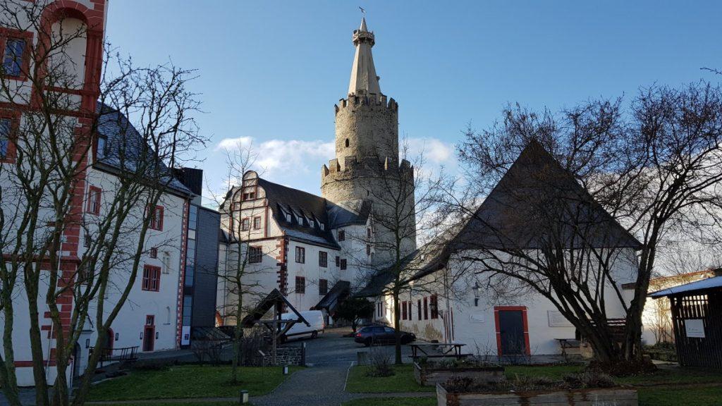 Der Bergfried der Osterburg