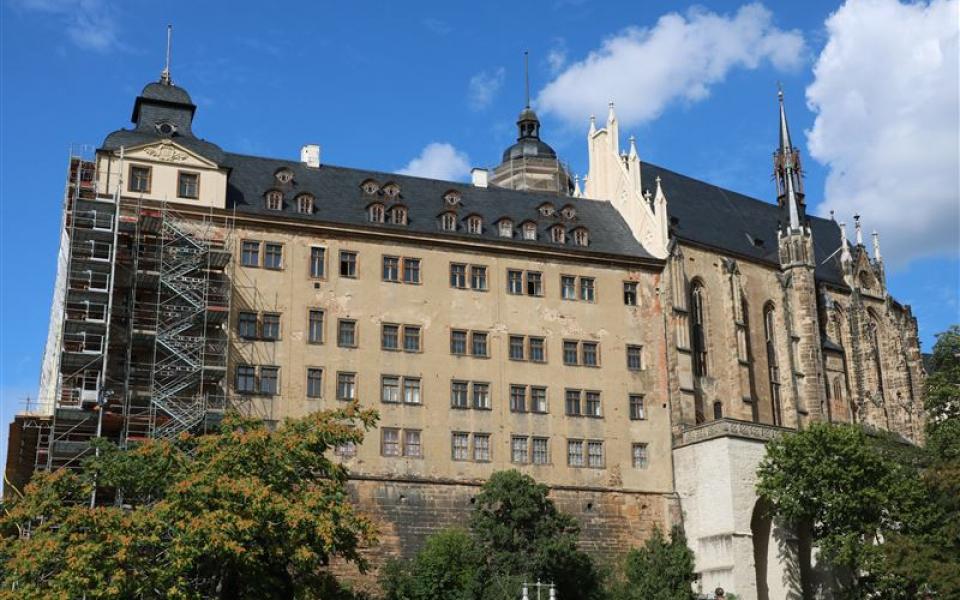 Südflügel und Schlosskirche